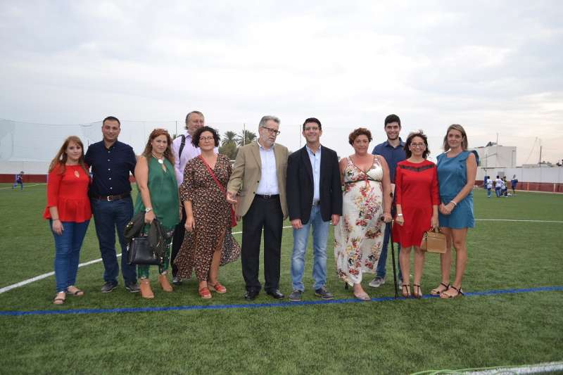 El presidente de la Diputación con los responsables municipales de Albal.