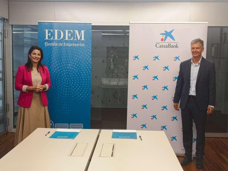 EDEM y CaixaBank./PDA
