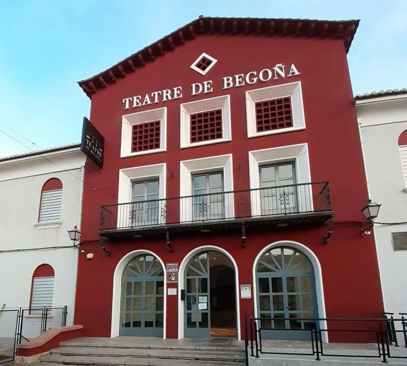 Fachada del Teatro.