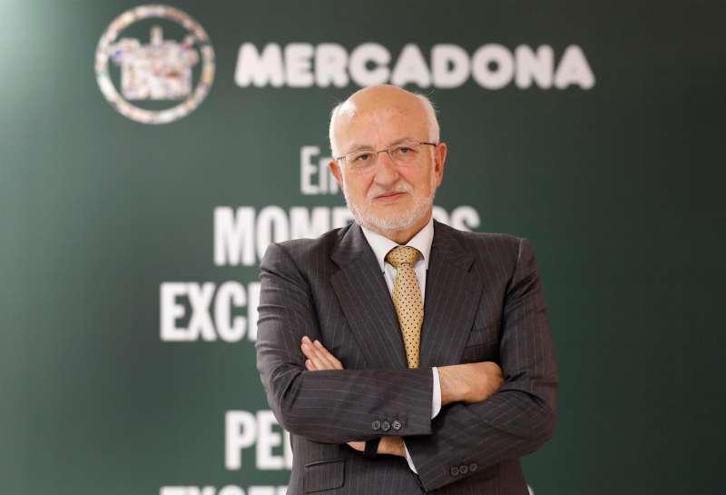 El presidente de Mercadona, el empresario Juan Roig.