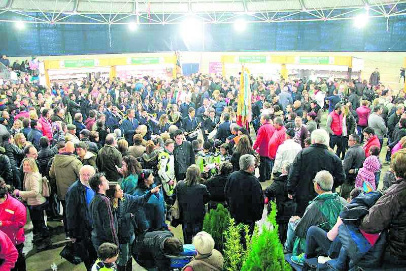 Inauguración de la Fira del Dolç de una edición anterior. / EPDA