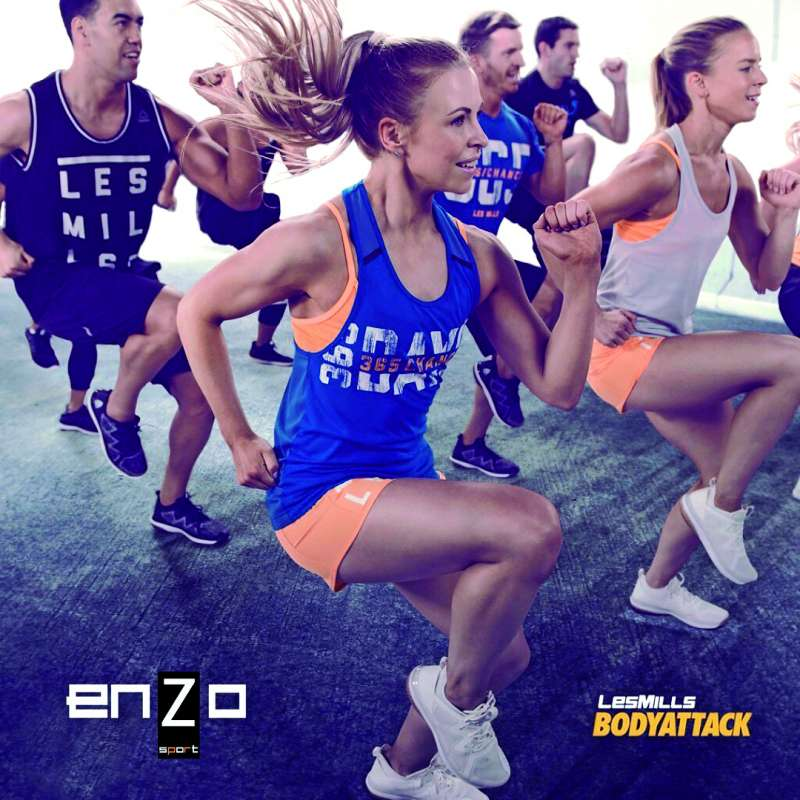 Una de las clases de Enzo Sport. EPDA