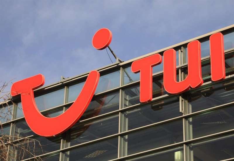 Imagen del letrero de la compañía. EFE