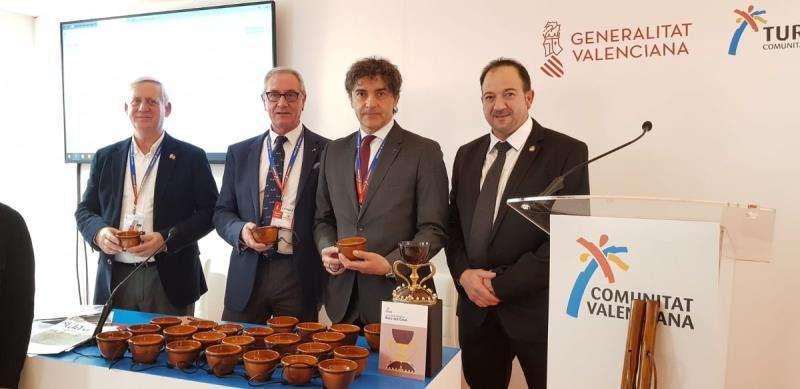 El secretario autonómico de Turismo, Francesc Colomer, hoy en Fitur, en una imagen de la Generalitat.