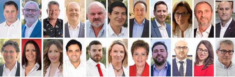 Alcaldes y alcaldesas de l