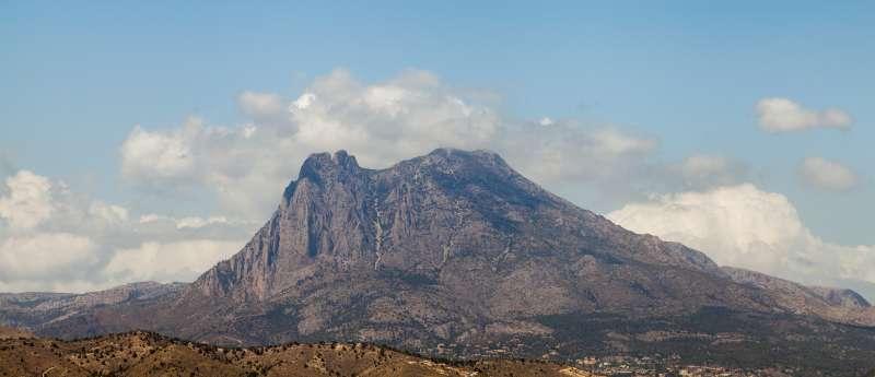 Puig Campana, en una imagen de archivo. EPDA