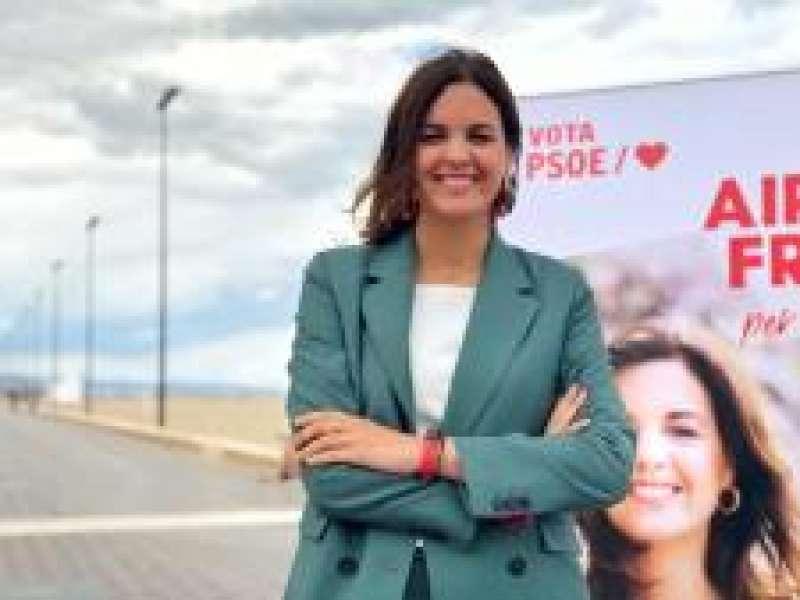 Candidata del PSPV-PSOE a València, Sandra Gómez