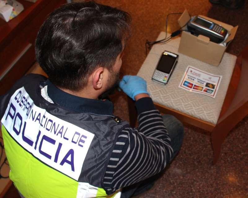 Imagen proporcionada por la Policía Nacional. EPDA