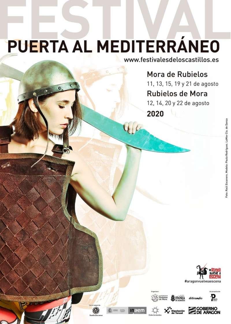 Cartel del Festival Puerta del Mediterráneo. EPDA