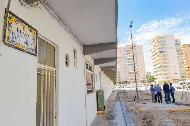 Plaça Enric Valor de Cullera./EPDA