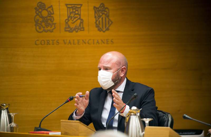 El presidente de la Diputació de València, Toni Gaspar.