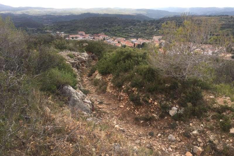 Trincheras del monte San Roque