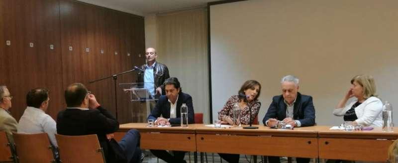 Un momento del encuentro de concejales no adscritos. FOTO EPDA