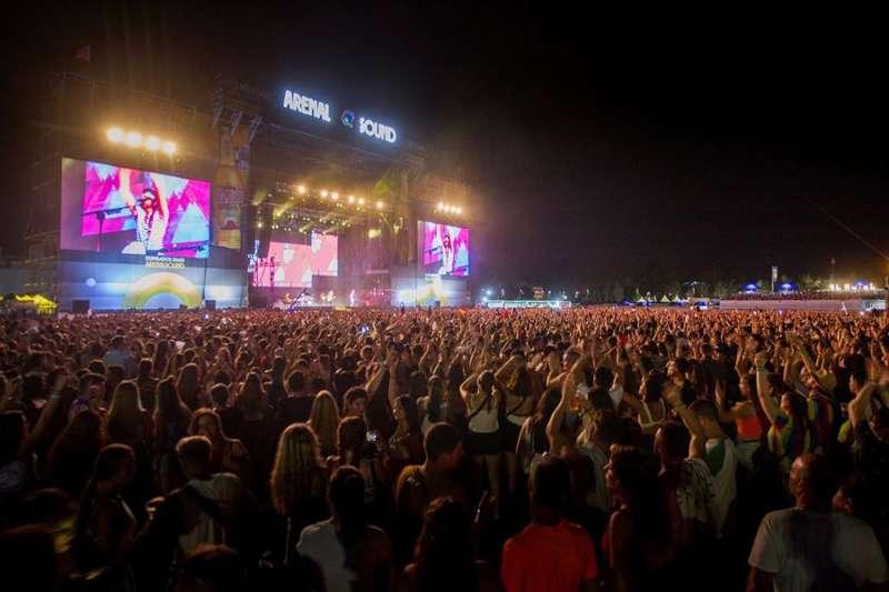 Concierto en la jornada de clausura del Arenal Sound Festival en agosto de 2019. EFE/Domenech Castelló