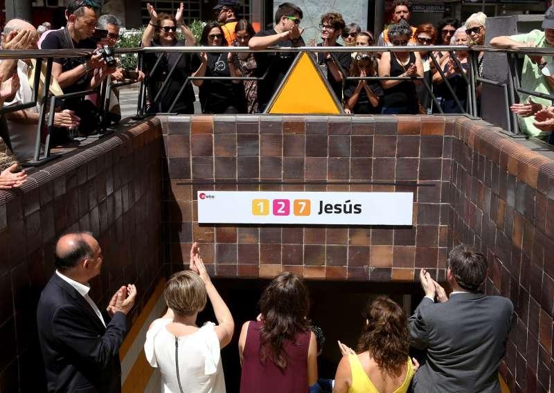 Homenaje a las victimas en el 10º Aniversario de accidente de metro