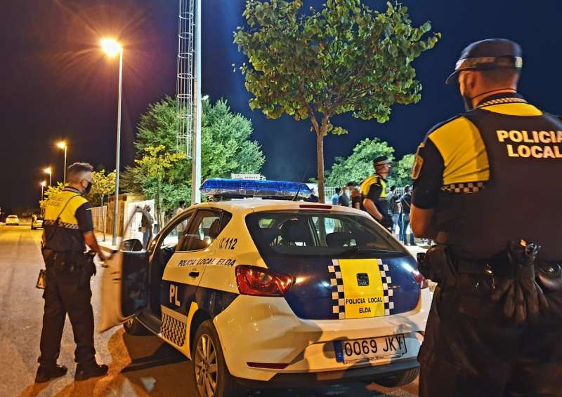 Imagen de archivo de la Policía Local de Elda.