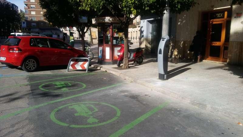 Punt de recàrrega per a vehicles elèctrics