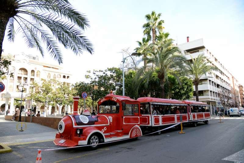 Tren de nadala a Paiporta. EPDA