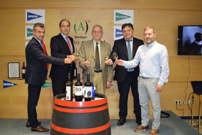 Cata de vinos de Vicente Gandía