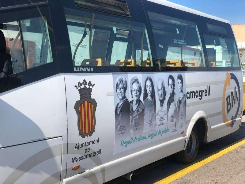 Autobús de Massamagrell. EPDA