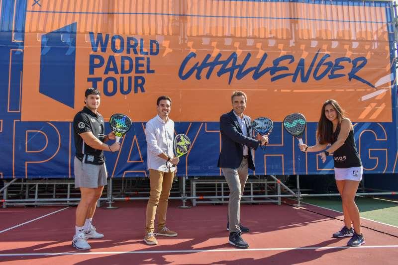 Presentación del torneo en Alfafar. EPDA