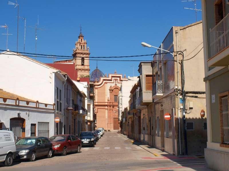 Un dels carrers de Foios. EPDA