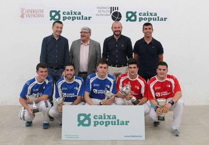 LLiurament de trofeus Lliga promeses Caixa Popular 2017. EPDA