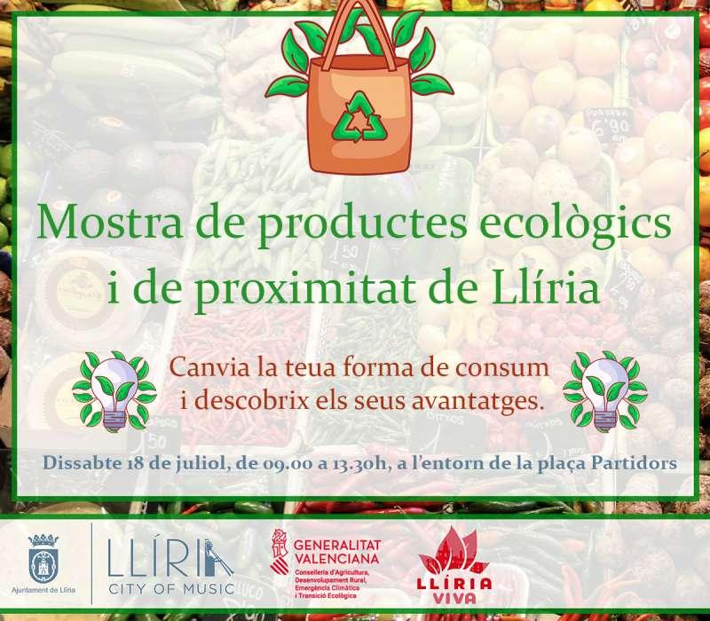 Cartel de Productos Ecologicos de Llíria . / EPDA