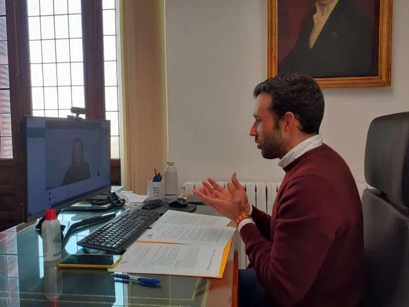 El alcalde de Sagunto y concejal del Área de Igualdad, Darío Moreno
