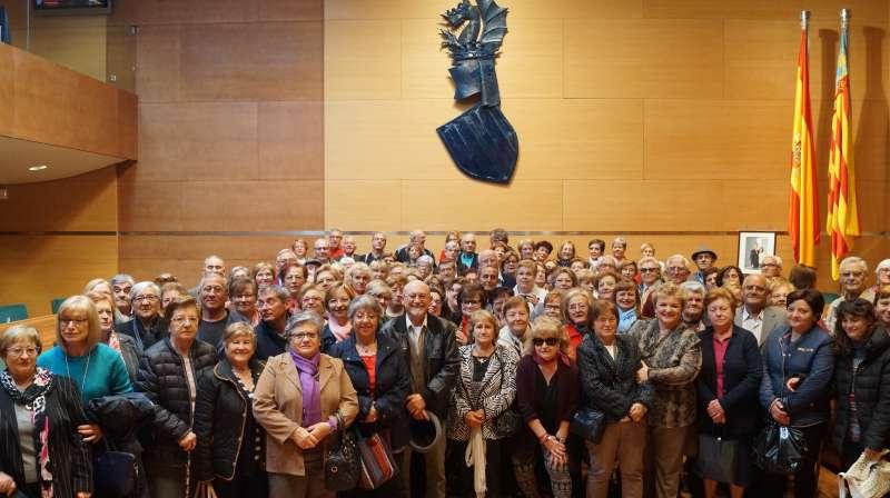 Els veïns de Quart de les Valls a la Diputació de València. EPDA