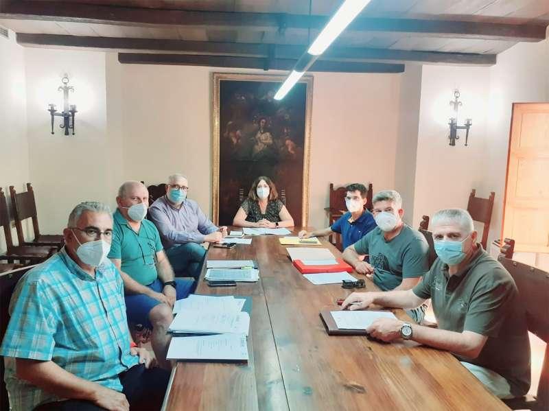 Mesa de negociación del Consell Agrari. / EPDA