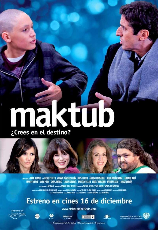 Cartel de Maktub. / EPDA