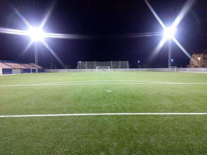 Campo de fútbol. EPDA.
