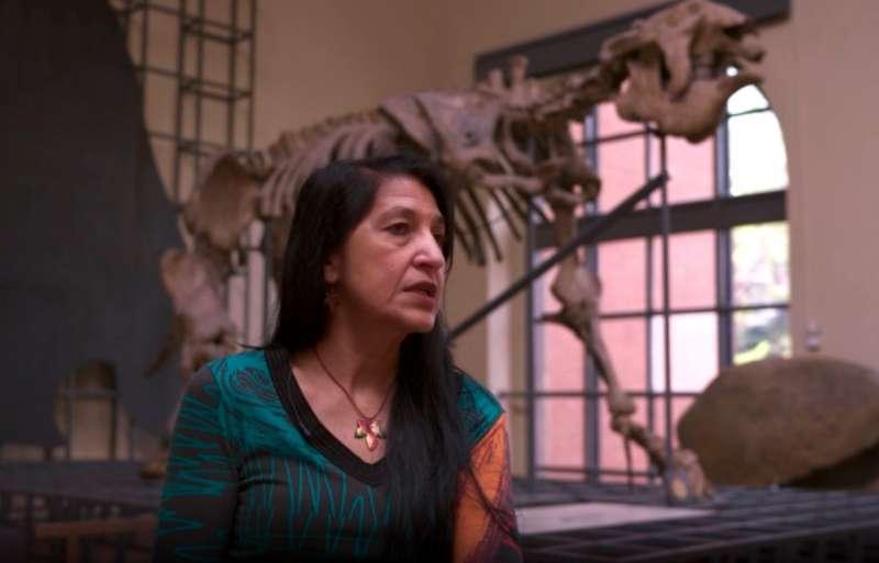 El Megaterio del Museo Nacional de Ciencias Naturales (MNCN) es uno de los objetos en los que se centra la serie.
