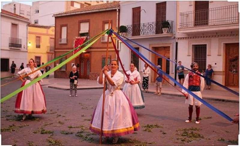 Celebración de las fiestas en Canet d