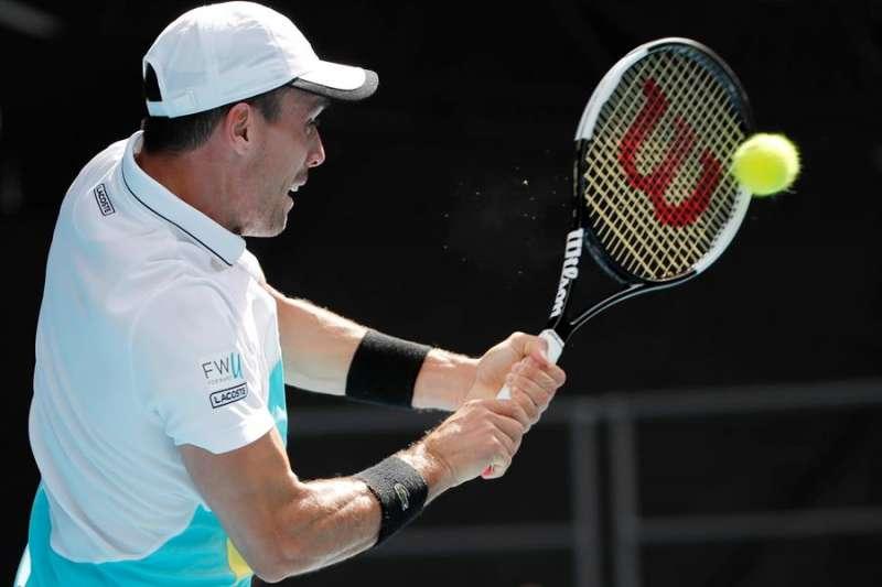 El tenista castellonense Roberto Bautista en su encuentro ante Cilic. EFE/EPA/FRANCIS MALASIG