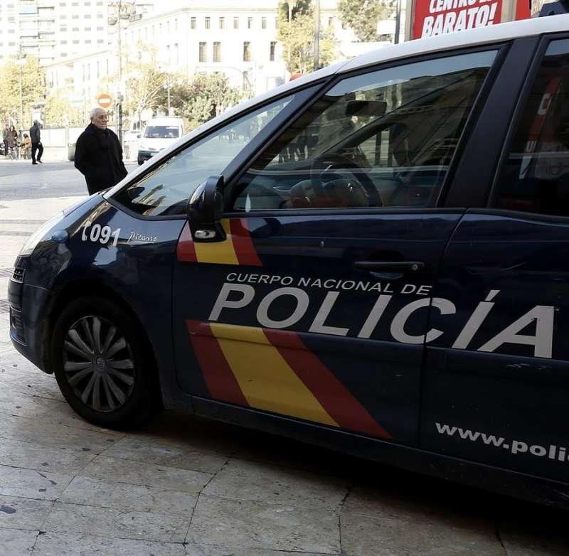 Coche policía. EFE