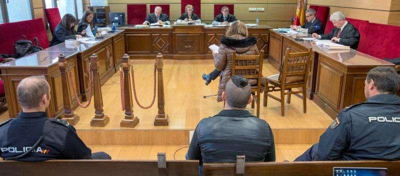 Un testigo declara en un juicio por violencia machista. EFE/Archivo