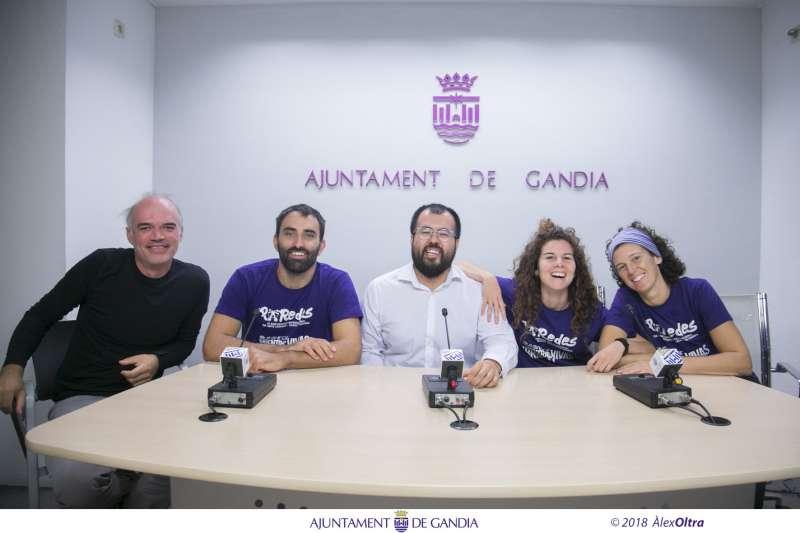 Roda de premsa del balanç del festival PaRedes. EPDA