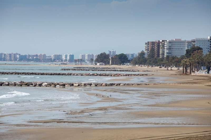 Playa valenciana. EFE