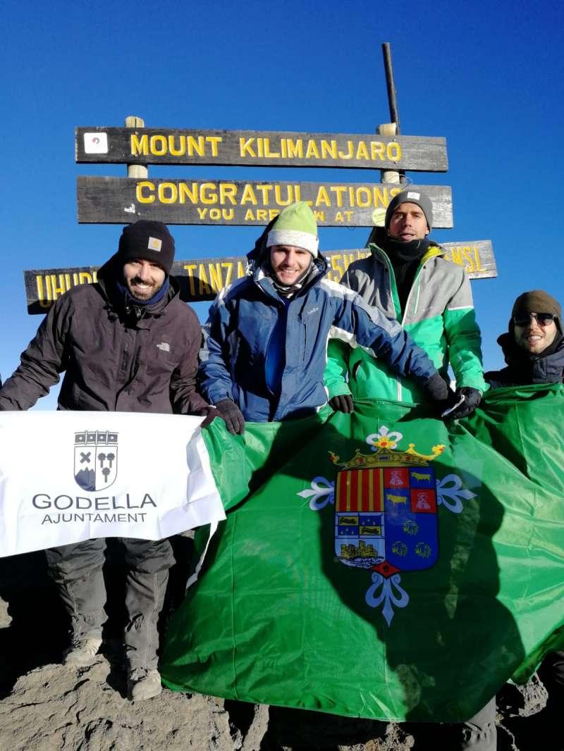 Imatge al Kilimanjaro. EPDA