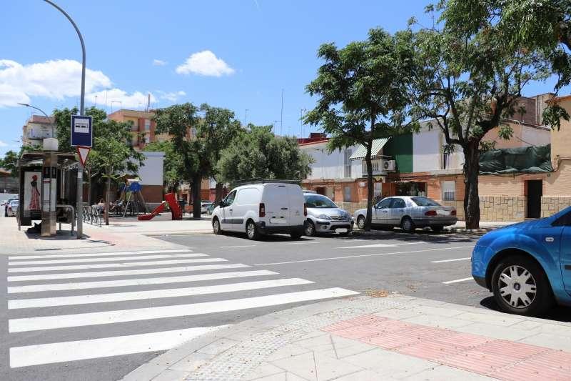 Nueva plaza de la Virgen de la Paloma