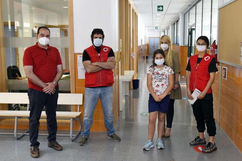 Creu Roja al centre de Paiporta. EPDA