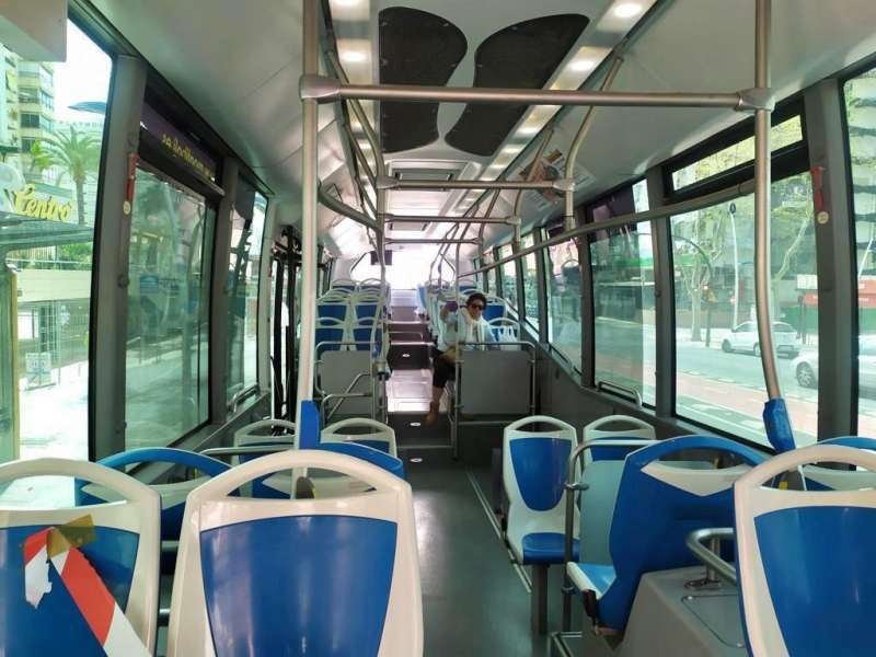 Autobús Valencia. EPDA.