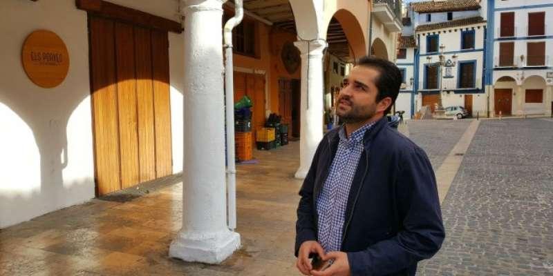 El regidor de Centre Històric, Jordi Estellés. EPDA