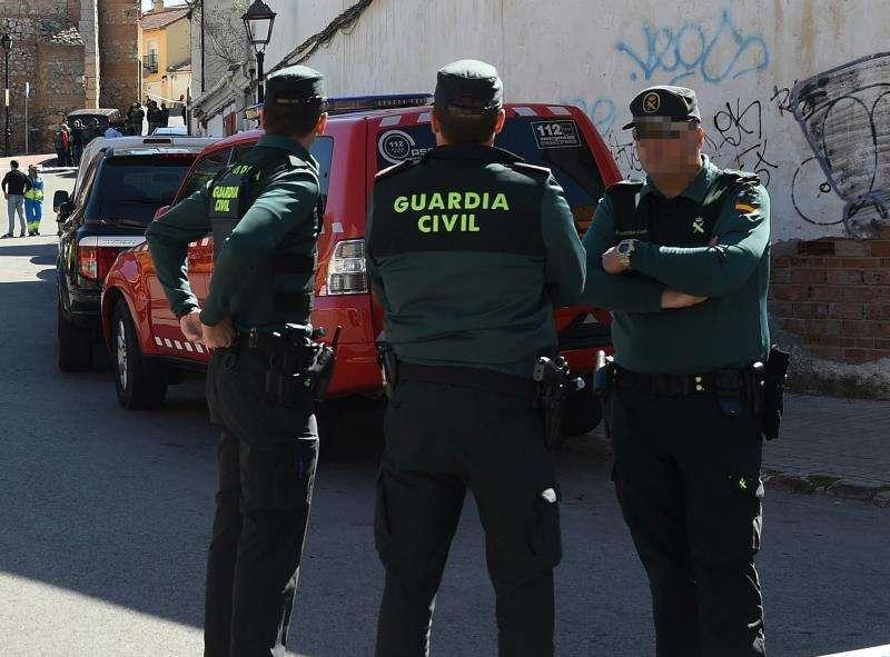 Agentes de la Guardia Civil. / EPDA