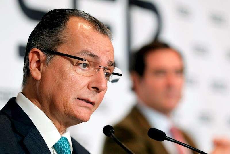 El presidente de la Confederación Empresarial Valenciana, Salvador Navarro. EFE