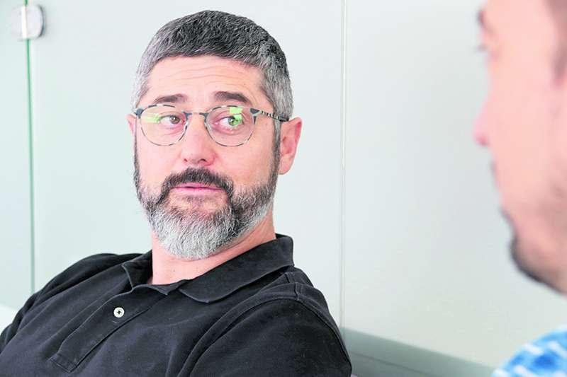 Manuel González, portavoz de Iniciativa Porteña en el Ayuntamiento de Sagunt. / EPDA