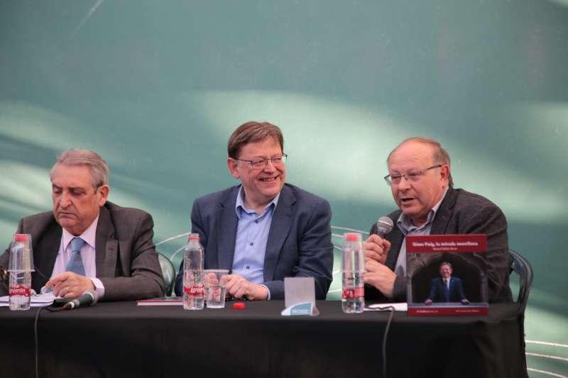 Ximo Puig, en la presentación del libro
