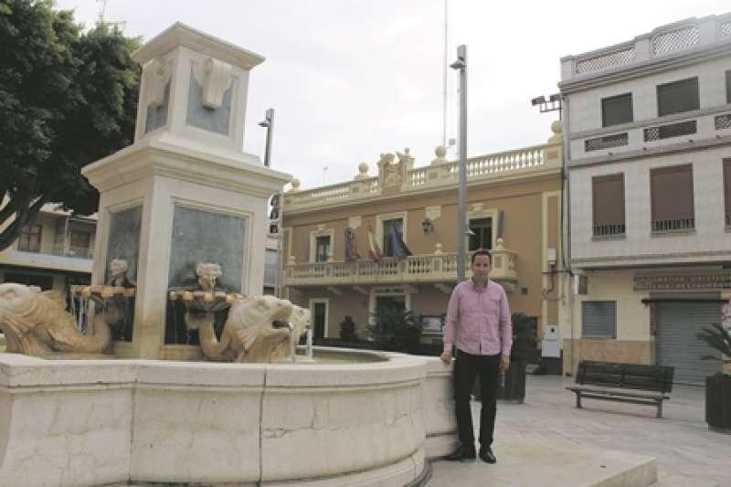 L?alcalde de Foios, Sergi Ruiz. / epda